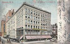 L. Bamberger Store Market Street Newark New Jersey  Stamped 1908 #D29