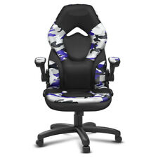 Gaming Chair Office Racing Style Reversible Armrest Wide Seat High Back Design