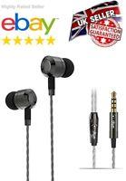 okun SP1050 Noise Isolating In-Ear Earphones Headphones Heavy Deep Bass UK STOCK