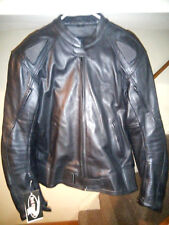 Mens Leather Armor Motorcycle Jacket 3rd Street Leather Millennium NEW TAGS NICE