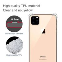 Clear Shockproof Strap Case Cover Fr iPhone 11 Pro Max 2019 XS Max XR 7 8 6 Plus