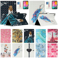"""For Samsung Galaxy Tab A7 10.4"""" T500 T505 T507 Pu Leather Case Cover Card Slots"""