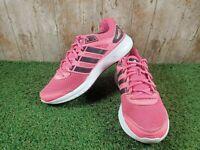 ADIDAS Duramo 6 Pink/Black/White Women's Running Trainers Size UK 8 EUR 42