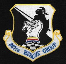 USAF 347th RESCUE GROUP Search and Rescue Military Patch