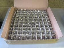 100 Chicago Miniature Lamp Co 7C7/120V C7 120V 7W Candelabra Light Bulb Lot