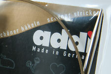 """ANY 6 Pairs addi Premium Circular Knitting Needles 32"""", 2mm to 5mm (US #0 to 8)"""