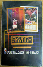 1990/91 Skybox Series 1 Basketball Wax Hobby Box Michael Jordan Larry Bird Cards