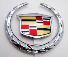 Cadillac DEVILLE 02 03 04 05!! WREATH & CREST GRILLE EMBLEM!!