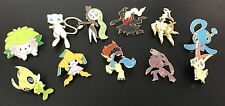 Pokemon TCG 20TH MYTHICAL COLLECTION COMPLETE SET - 11 NEW PINS!