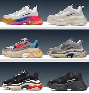 Men Womens Sport Casual Jogging Sneakers Running Sneaker Fitness Gym Shoes UK4-9