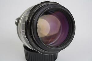 Nikon Nikkor-H 85mm 1:1.8 nonAI (Nikon F mount)