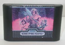 Sega Genesis Golden Axe Game Cartridge, Works R13612