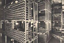 BORDEAUX WINE. Caveau ou vieillissent les Grands Vins. Wines ageing. 1949