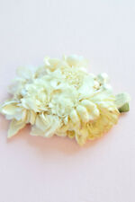 Garden Flowers with Pearls Hair Clip & Corsage | Handmade by Top Designer Japan