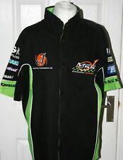 Camisa de equipo de descubrimiento Kawasaki MSS Genuino ZX10R Talla S