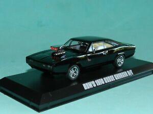Greenlight 1/43 Dom's 1970 Dodge Charger R/T (Black) Fast & Furious MiB