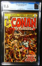 Dragonmiser Conan the Barbarian #24 CGC 9.6 1st Full Red Sonja Off-White Pages