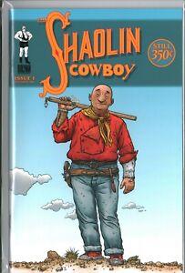 SHAOLIN COWBOY #1-7 Geoff Darrow Burlyman COMPLETE NM-/NM (9.2/9.4) SET