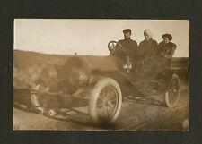 RPPC Photo Postcard Vintage Early Cadillac Car Auto Automobile Transportation PC