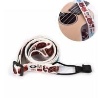 Adjustable Nylon Printing Styles Ukulele Strap With Hook Mini Guitar Accessories