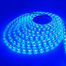 5 Meter 16.4FT 5050 Blue SMD 300 LEDs Non-Waterproof Flexible LED Strip Lights