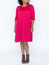 Agnes & Dora Kraaft Dress Pink Stripe NWT Retails for $56 XS