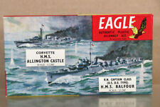 EAGLE EAGLEWALL PLASTICS 1:1200 WWII HMS ALLINGTON CASTLE & BALFOUR SHIP nz
