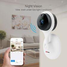 PORTRONICS SEESAW WIFI SMART CCTV CAMERA-WHITE+NIGHT VISION+TWO WAY TALK