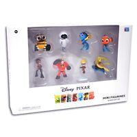 DISNEY PIXAR Nemo Wall-E FINDET DORIE Figur 8er Set Nemo Eve Die Unglaublichen