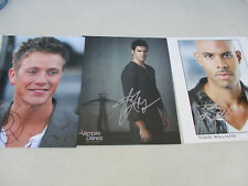 Vampire Diaries Signed Photo Image Lot Publicity Todd Williams Real Series