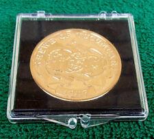 Bronze Krewe Of Tucumcari Mardi Gras Doubloon BR LA 1947-1997 Golden Anniversary