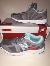 NEW BALANCE Women's 770V2 Cross Trainers GRAY/BLUE Size 5 1/2D WIDE NEW Boxed