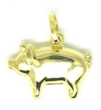 Charm (s) de charms de joyería de oro amarillo, sobre los animales e insectos