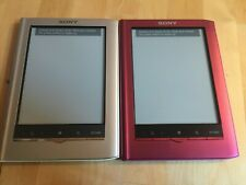 FREE SHIPPING | Sony E-Reader Pocket Edition Silver & Pink (PRS-350)