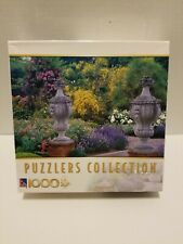Puzzlers Collection Jigsaw Puzzle Kettle Hill Garden Urns 1000 Pieces Used