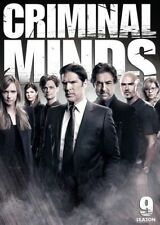 Criminal Minds ninth Season nine 9 DVD Jeanne TRIPPLEHORN AJ COOK Thomas GIBSON