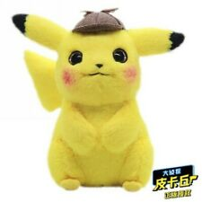 "Pokémon Detective Pikachu 11"" Doll Plush Doll Stuffed Toy Movie 2019 Cos Gift"