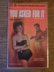 Ian Fleming You Asked for It Casino Royale 1st American Ed. James Bond RARE 1955