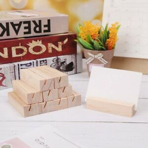Square DIY Photo Place Card Holders Photo Clip Handicrafts Party Decoration