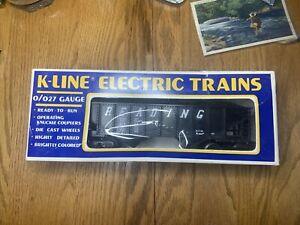 K-Line Reading Railway Coal Car In Original Box