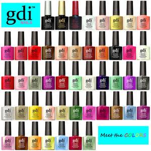 GDi Nails - Classic Colours - UV LED Soak Off Gel Nail Polish Varnish