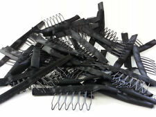 Hair Wig Combs and Clips For Wig Cap Black Color Wholesale lace Wig Accessories
