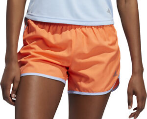 adidas Marathon 20 3 Inch Womens Running Shorts - Orange