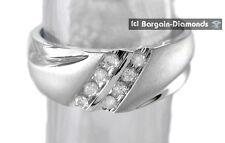 mens diamond .25 carats 10K white gold ring wedding band dress anniversary mans