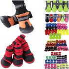 4Pcs/Set Anti-Slip Waterproof Puppy Paw Protective Rain Boots Pet Cat Dog Shoes
