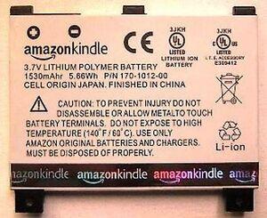 Batterie Original AMAZON 2 Kindle CS-ABD002SL DR-A011