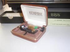 EMPIRE 888E CARTRIDGE AND ORIGINAL NUDE ELLIPTICAL STYLUS IN KILLER SHAPE / BOX