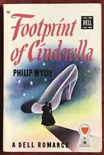 FOOTPRINT OF CINDERELLA by PHILIP WYLIE Dell paperback No 140 1931 Map