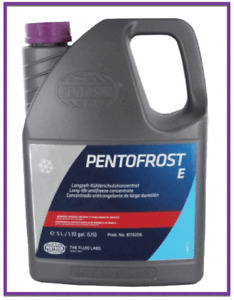 5 Liters Universal Engine Coolant/Antifreeze PENTOSIN E-G13 PINK Concentrated