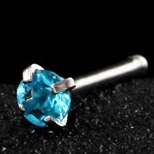 New Stainless Steel Nose Rings Studs Piercing Body Jewelry 20G Crystal Fashion
